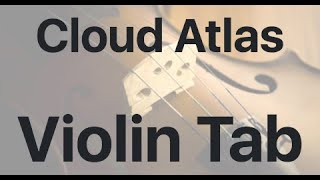 Learn Cloud Atlas on Violin - How to Play Tutorial
