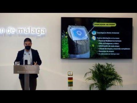 Presentación de la aplicación para dispositivos móviles de la Gran Senda de Málaga
