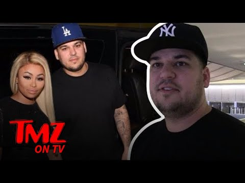 Rob Kardashian Fires Back At Blac Chyna's Lawsuit! | TMZ TV
