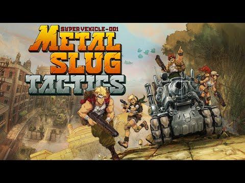 E3 2021: Metal Slug Tactics Reveal Trailer