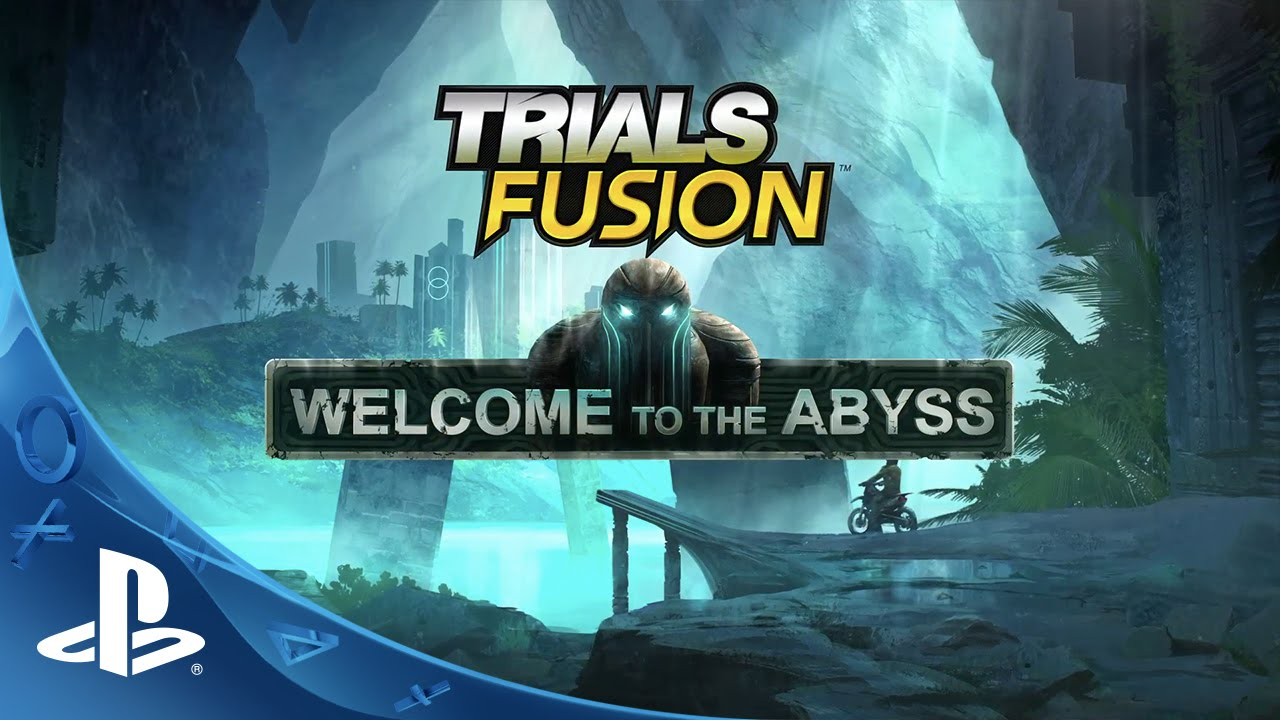 Trials Fusion: Welcome to the Abyss Out Today on PS4