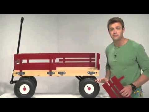Radio Flyer All-Terrain Cargo Wagon - Product Review Video