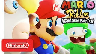 Picture of a game: Mario + Rabbids Kingdom Battle