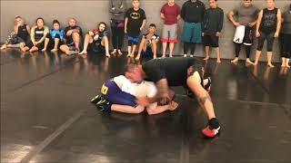 Snap Down to Wrestlers Gullotine 1