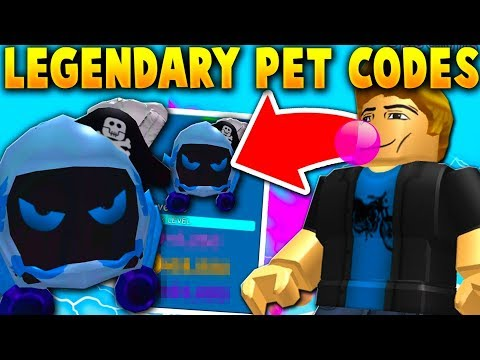 I USED THE LEGENDARY PET CODES AS A NOOB!! *SUPER OP