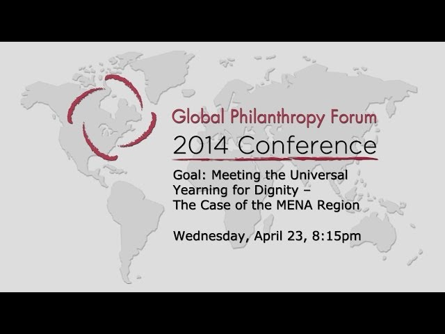 Goal Meeting the Universal Yearning for Dignity — The Case of the MENA Region