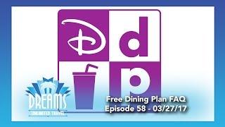 Free Disney Dining Plan Facts & Myths | 03/27/17
