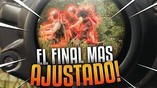 ¡EL FINAL MÁS AJUSTADO! PLAYERUNKNOWN