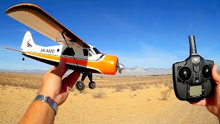 XK DHC-2 A600 RC Airplane Easy 3D Mode