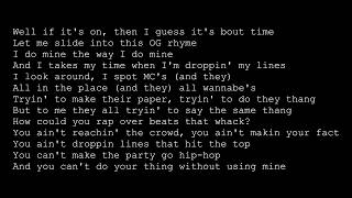 Snoop Dogg - Sixx Minutes (lyrics)