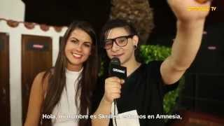 Interview Skrillex  AmnesiaTV 2014
