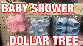 DOLLAR TREE ~ BABY SHOWER FAVORS IDEAS FOR $1 BIRTHDAY PARTY FAVORS 🛍
