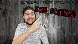 Mortgage loans explained 2018 (FAST!)