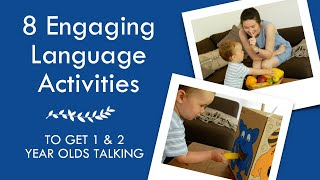 8 ACTIVITIES FOR LANGUAGE DEVELOPMENT (2) | Easy Games And Activities To Get Toddlers Talking