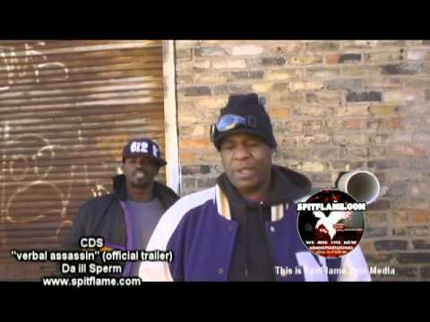 """CDS - Verball Assassin Video Trailer for the """"ill Sperm"""" album Coming Soon to itunes"""