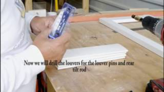 How To Build A Plantation Shutter