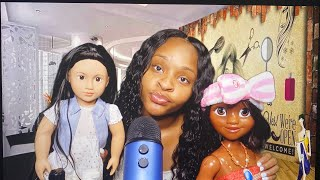 ASMR Ghetto Hair Salon Roleplay | Two Appointments!?