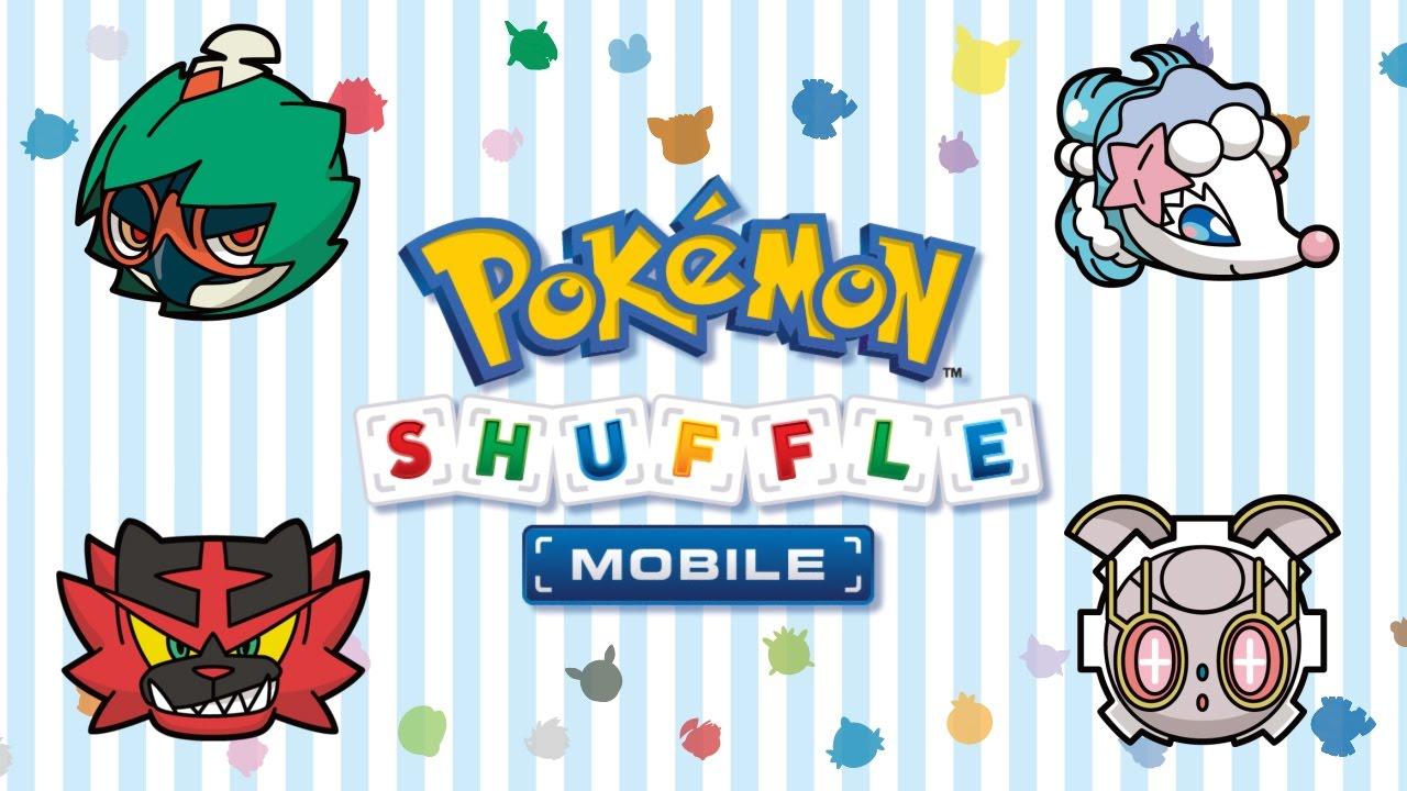 I Pokémon di Alola arrivano in Pokémon Shuffle!