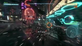 BATMAN: ARKHAM KNIGHT - PS4 Pro - Boost Mode FPS Test