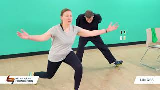 Parkinson's Exercise: Lunges (8 Minutes)