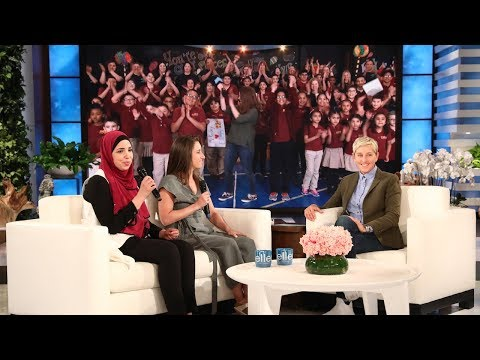 New Jersey School Gets Two Big Surprises from Ellen
