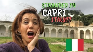 Isle Of Capri Italy During Off-Peak Season
