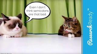 How Do I Use a Semicolon?