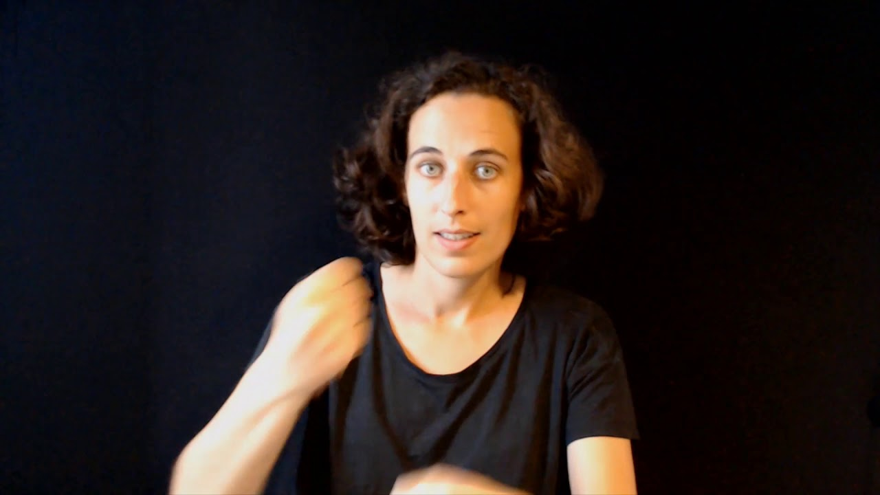 vidéo en langue des signes française