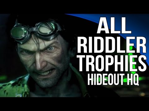 Batman: Arkham Knight - Riddler Trophies - Arkham Knight HQ