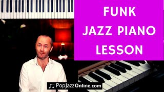 Jazz Funk - Jazz Piano Lesson 🎹(BAH) 🇪🇸🇺🇸