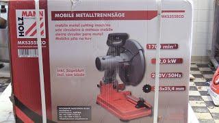 Holzmann mobile Metalltrennsäge  MKS 355 ECO