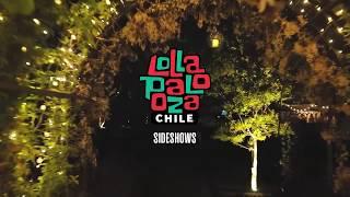 Nicola Cruz @ Sideshow Lollapalooza 2016 con :: Bosque Luz. Santiago, Chile.