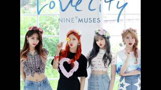 9Muses - Love City (Inst.)