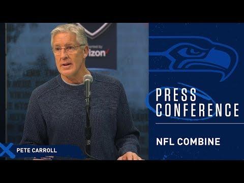 Seahawks Head Coach Pete Carroll 2019 NFL Combine Press Conference