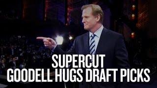 Supercut: Roger Goodell hugs 2013 NFL draft picks thumbnail