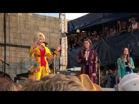 Dolly Parton sings 'Just Because I'm a Woman' with Brandi Carlile and the Highwomen at Newport Folk