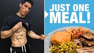 Full Day of Eating - Jeff Cavaliere (REVEALED!)
