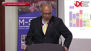 [Sidang Media Prof Dato Dr Mohammad Redzuan Othman-CEO IDE]3 Penjuru:Apa Pilihan Rakyat?