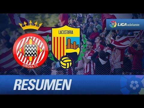 Resumen de Girona FC (1-0) UE Llagostera