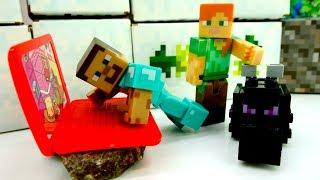Видео Майнкрафт - Строим компьютер для Стива - Видео для мальчиков