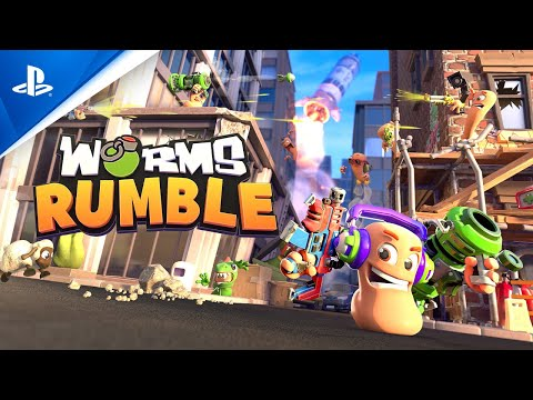 Worms Rumble débarque sur PS5 et PS4 cette année