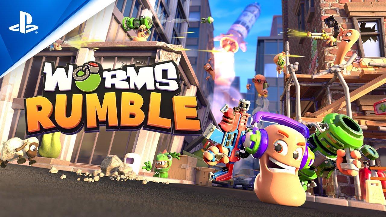 Анонсирующий трейлер игры Worms Rumble