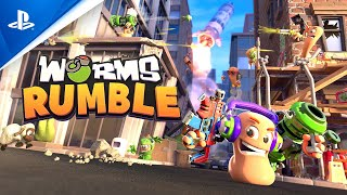 PlayStation Worms Rumble - Announcement Trailer anuncio