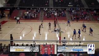 Regional Volleyball - Rochester vs Carroll