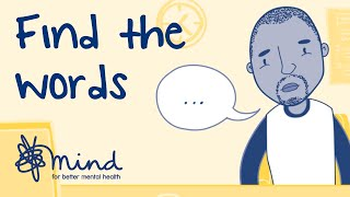 How to talk to your GP about your mental health | Find the Words