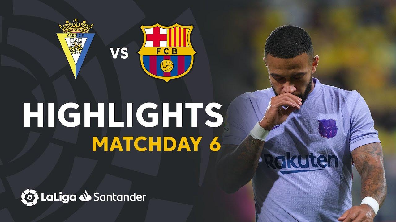 Resumen de Cádiz CF vs FC Barcelona (0-0)