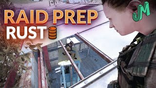 RUST 🛢 Raid Prep Playing PC Waiting For The Beta 🎮 Stream 98
