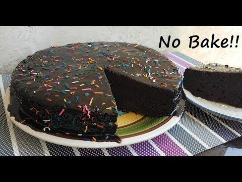 Video No Bake Chocolate Cake | How to make Chocolate cake | Best Cake