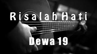 Risalah Hati   Dewa 19   Fourtwnty Version   ( Acoustic Karaoke )