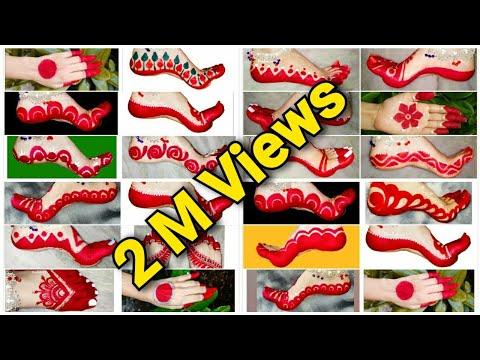 10 most popular bridal alta design for hands & feet
